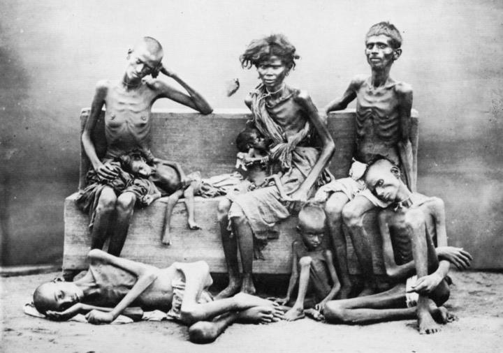 Starvation from famine